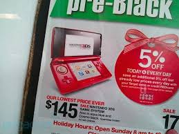 new 3ds black friday deal target nintendo 3ds available for 145 at target u0027s pre black friday sale