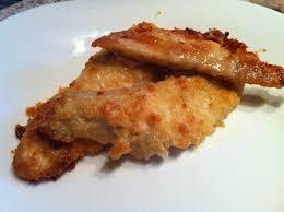 cuisiner des aiguillettes de poulet aiguillettes de poulet panées au parmesan le grenoblois créatif