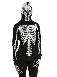 teenage runaway skeleton girls hoodie topic