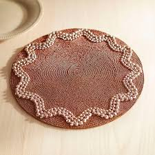 Beaded Table Linens - 171 best table linens u003e placemats images on pinterest table