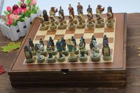 ancient chess high quality chess set the ancient egypt series figues chess set
