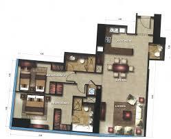 floor plans of gate tower 1 units al reem island