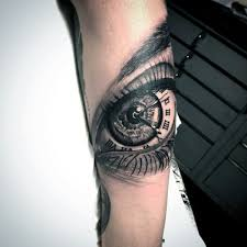 eye tattoos for numeral tattoos and eye