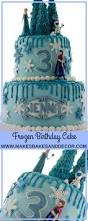 frozen birthday cake bakes decor