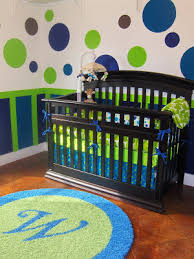 Blue And Green Bedroom Absorbing Baby Boy Rooms Contemporary Crib And Nursery Design