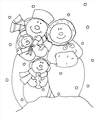 magnificent snowman printable coloring pages picture