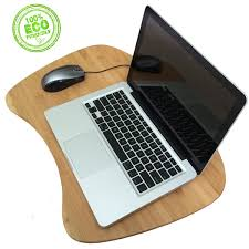 Lap Desks For Laptops by Lap Desk Laptop Table Tray Natural Bamboo Desk With Added Cushion