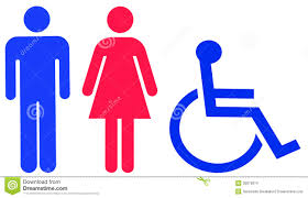 Male Female Bathroom Signs by Universal Toilet Sign Stock Images Image 30879074