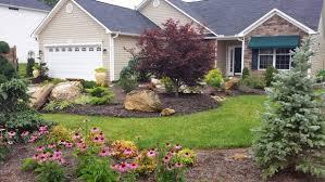 no maintenance flower beds