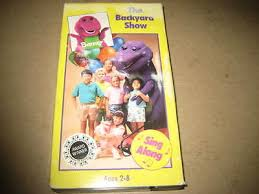 The Backyard Show Book Barney by Vhs Collection On Ebay