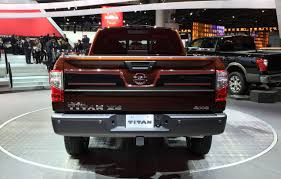 nissan titan detroit auto show 2015 naias 2016 nissan titan gets 5 0l turbo diesel v8