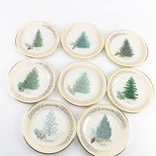 lenox tree plates ebth