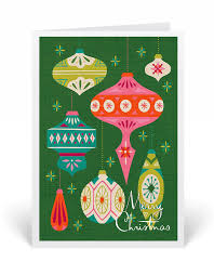 retro christmas cards retro modern cards harrison greetings business greeting