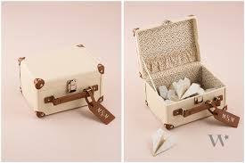 Suitcase Favors by Country The Details Weddingstar