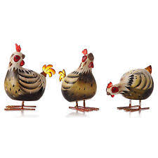 rocking rooster chickens ebay