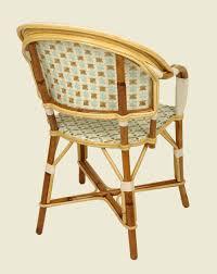 fauteuil dos fauteuil bastille blanc bleu azur or dos maison drucker