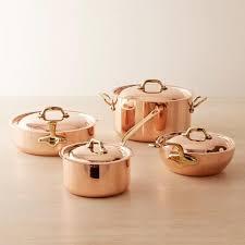 batterie cuisine cuivre cuisine scandinave moderne reproduisez le décor
