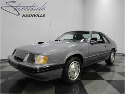 1985 mustang svo 1985 ford mustang svo for sale classiccars com cc 922212