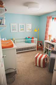 love the new grandson u0027s room gender neutral teal orange