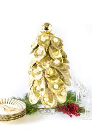 how to make christmas tutorial how to make an oyster christmas tree pizzazzerie