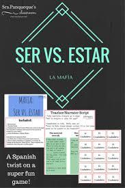 12 best ser vs estar images on pinterest spanish teacher