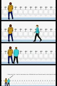 Small Talk Meme - small talk urinal etiquette know your meme