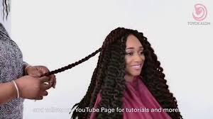 toyokalon hair for braiding ny tutorial no sew no glue easy to install toyokalon crochet