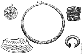 30 ornaments and patterns of the ancient britons