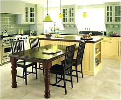 kitchen island with table combination island with table 30 kitchen islands with tables a simple but