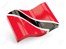 Flag For Trinidad And Tobago 3d Flag Of Trinidad And Tobago Isolated On White Stock Photo