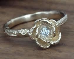 nature inspired engagement rings bezel set ring nature inspired engagement ring in
