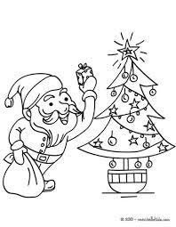 santa claus happy boy coloring pages hellokids