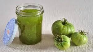 cuisiner tomates vertes confiture de tomates vertes recette facile 5 é
