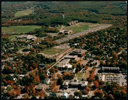 Bridgewater State University Map by Aerial View Of The Bridgewater State College Campus Digital