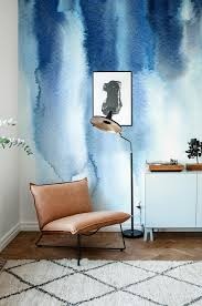 Watercolor Wallpaper For Walls by Blue Watercolor Wallpaper Abstract Wallpaper Unique