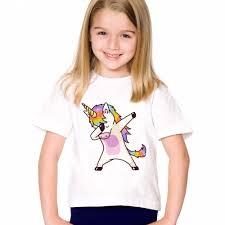 dabbing unicorn kids t shirt u2013 the dabbing unicorn