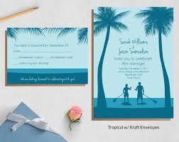 wedding invite sets wild blue weddings