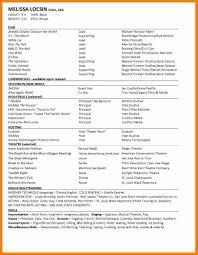 Acting Resume Beginner 11 Beginner Cv Template Reporter Resumes