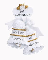 wedding anniversary ornaments anniversary my personalized ornaments