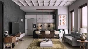 Interior Design Kitchen Living Room House Design Kitchen Living Room Youtube