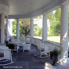 front porch columns vinyl porch posts