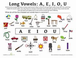 long vowel sounds worksheet education com