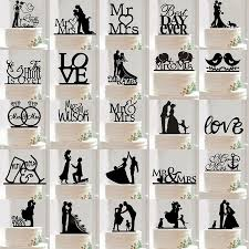 grooms cake toppers acrylic mr mrs and groom wedding cake topper party