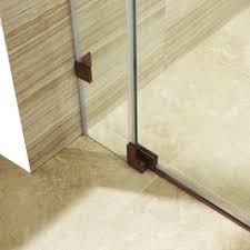 vigo pirouette 60 inch frameless shower door 375 in clear glass