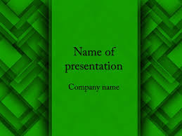 free green abstract powerpoint template u0026 background for