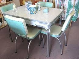 1950s kitchen furniture retro chrome table image of yellow retro kitchen table and chairs