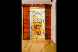 temple glass shree rangkala glass design surat gujarat temple glass