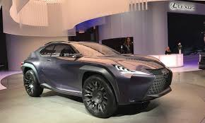 lexus ux suv concept paris lexus execs see holes in the lineup