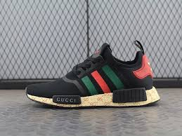 adidas x gucci shop men s women s adidas nmd r1 x gucci bee w shoes black green red