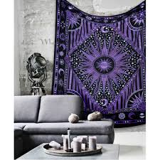 Tapestry On Bedroom Wall Indian Traditional Tapestries And Wall Hangings Bedroom Decor